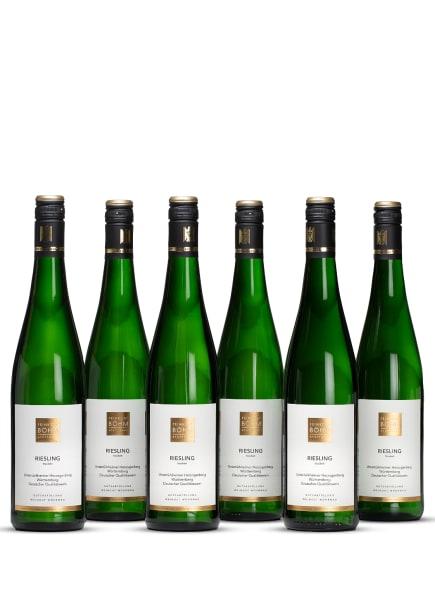 Feinkost Böhm Weißwein RIESLING TROCKEN 0,75L (6 x 0,75L), Farbe: WEISS (Bild 1)