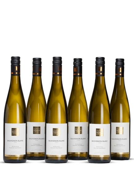 Feinkost Böhm Weißwein SAUVIGNON BLANC 0,75L (6 x 0,75L), Farbe: WEISS (Bild 1)