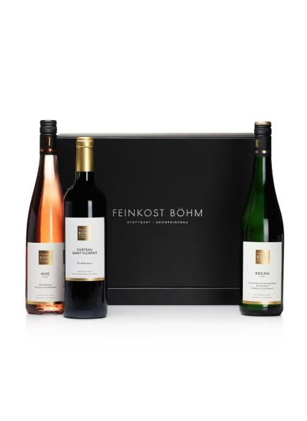 Feinkost Böhm Geschenkbox  FEINKOST BÖHM TRIOLOGIE, Farbe: SCHWARZ (Bild 1)