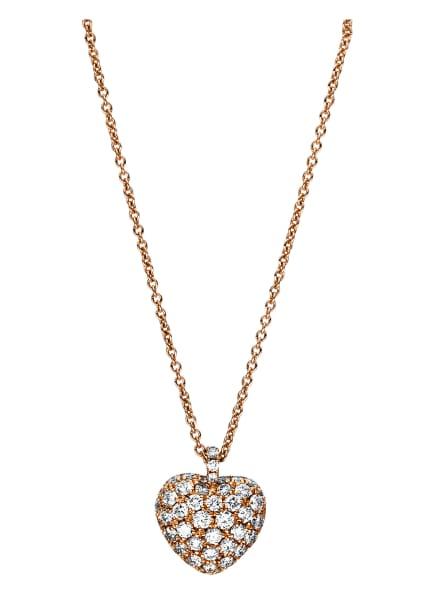 DIAMOND GROUP Collier, Farbe: ROSÉGOLD (Bild 1)