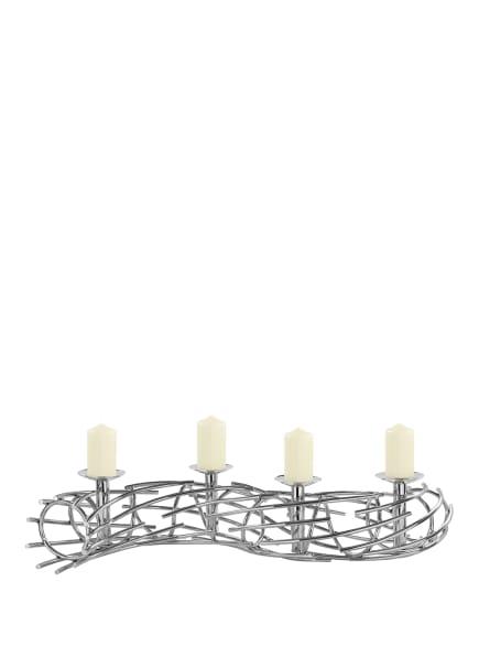 Fink Kerzenleuchter CORONA, Farbe: SILBER (Bild 1)