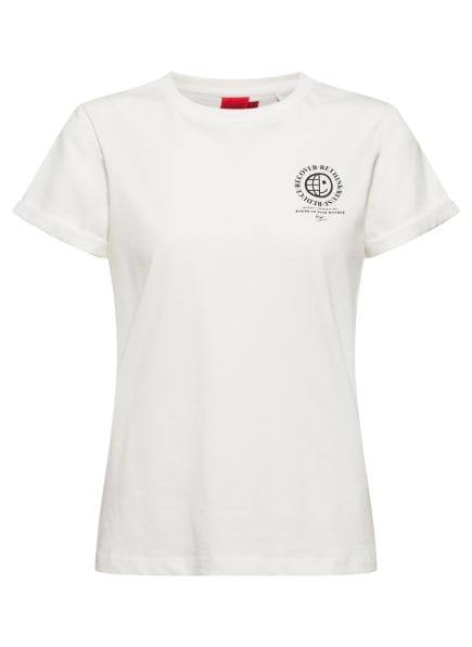 HUGO T-Shirt THE EARTH TEE, Farbe: WEISS (Bild 1)