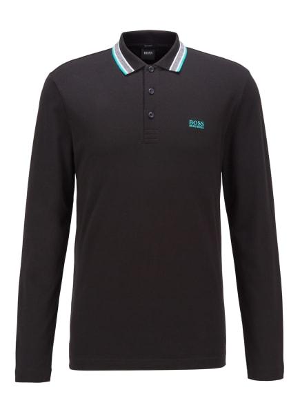 BOSS Poloshirt PLISY, Farbe: SCHWARZ (Bild 1)