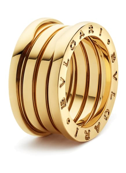 BVLGARI Ring B.ZERO1 aus 18 Karat Gelbgold, Farbe: GOLD (Bild 1)