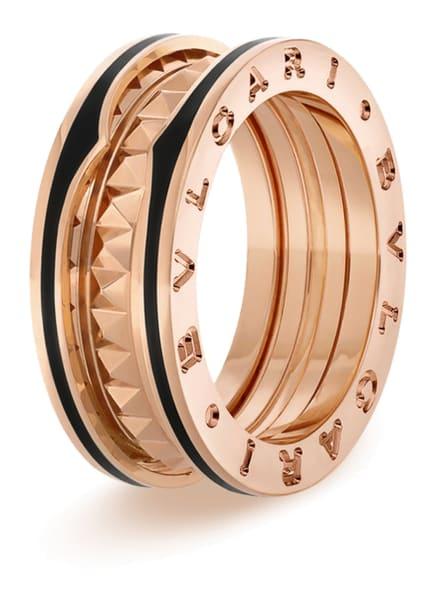 BVLGARI Ring B.ZERO1 aus 18 Karat Roségold und Keramik, Farbe: ROSÉGOLD/ SCHWARZ (Bild 1)