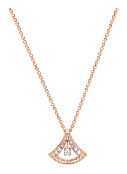 BVLGARI Halskette DIVAS'DREAM aus 18 Karat Roségold und Diamanten, Farbe: ROSÉGOLD (Bild 1)