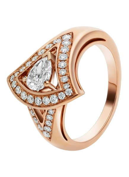 BVLGARI Ring DIVAS'DREAM aus 18 Karat Roségold und Diamanten, Farbe: ROSÉGOLD (Bild 1)