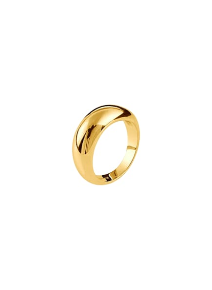 Pompidou Ring DOME  by GLAMBOU, Farbe: GOLD (Bild 1)