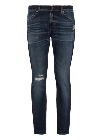 7 for all mankind Jeans RONNIE Skinny Fit, Farbe: BLAU (Bild 1)