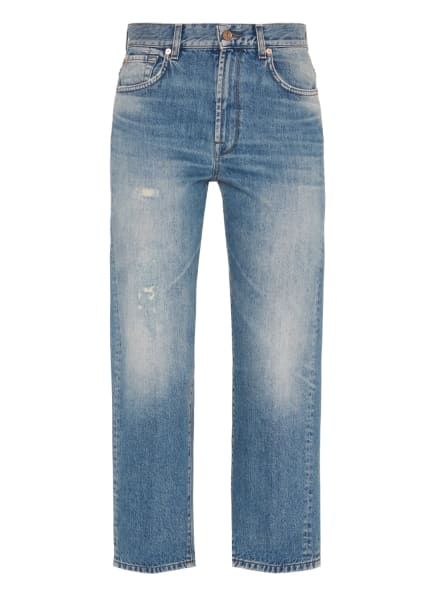 7 for all mankind Jeans THE MODERN STRAIGHT Straight Fit, Farbe: BLAU (Bild 1)