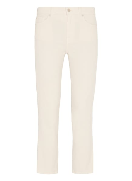 7 for all mankind Jeans THE STRAIGHT CROP Straight Fit, Farbe: WEISS (Bild 1)