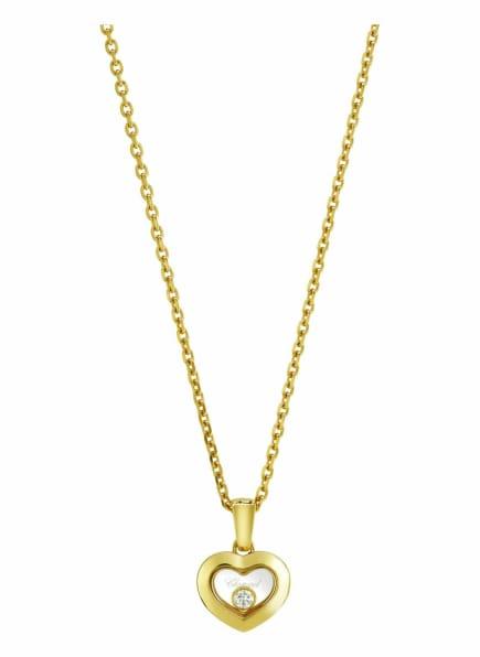 Chopard Anhänger HAPPY DIAMONDS ICONS Anhänger aus 18 Karat Gelbgold und Diamanten, Farbe: GOLD (Bild 1)