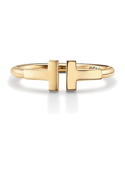 TIFFANY & Co. Ring TIFFANYT WIRE aus 18KaratGold, Farbe: GOLD (Bild 1)