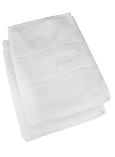 BOSS Handtuch im 2er Set, Farbe: WEISS (Bild 1)