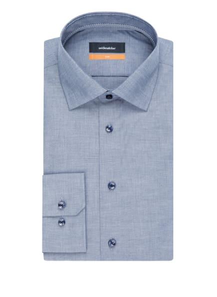 seidensticker Business Hemd Slim, Farbe: DUNKELBLAU (Bild 1)