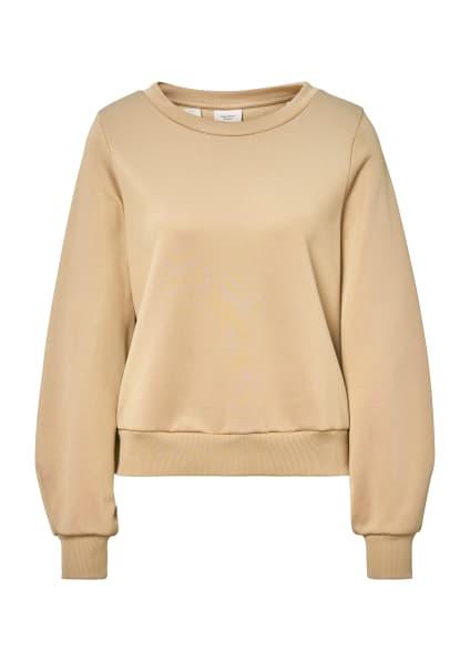 Marc O'Polo Pure Sweatshirt, Farbe: BEIGE (Bild 1)