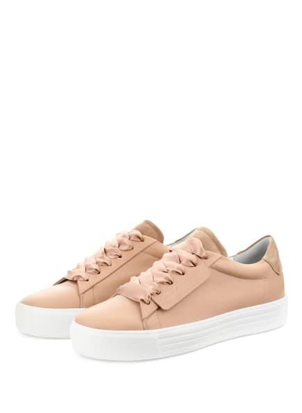 KENNEL & SCHMENGER Plateau-Sneaker UP, Farbe: NUDE (Bild 1)