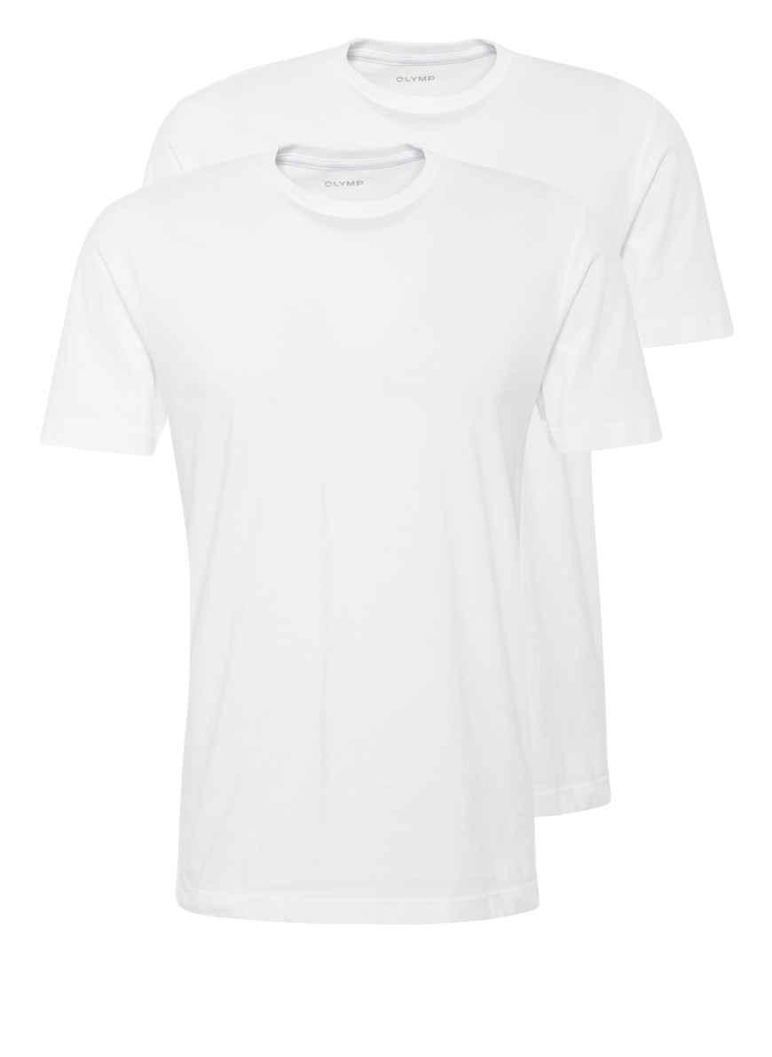 shirts Weiss T Kaufen 2er pack Olymp Von Bei D29YEIeWbH