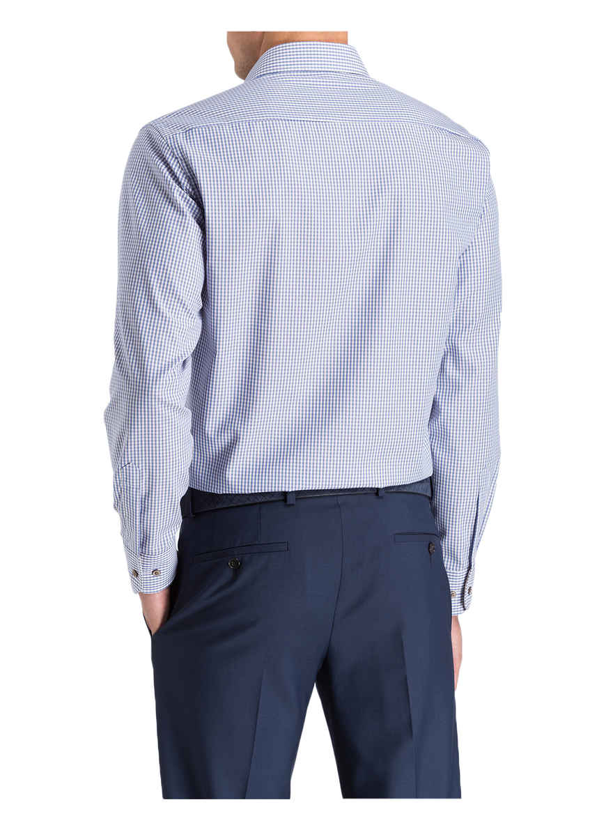 BlauWeiss Kariert Bei Fit Von Eterna Hemd Modern Kaufen wknOPX8N0