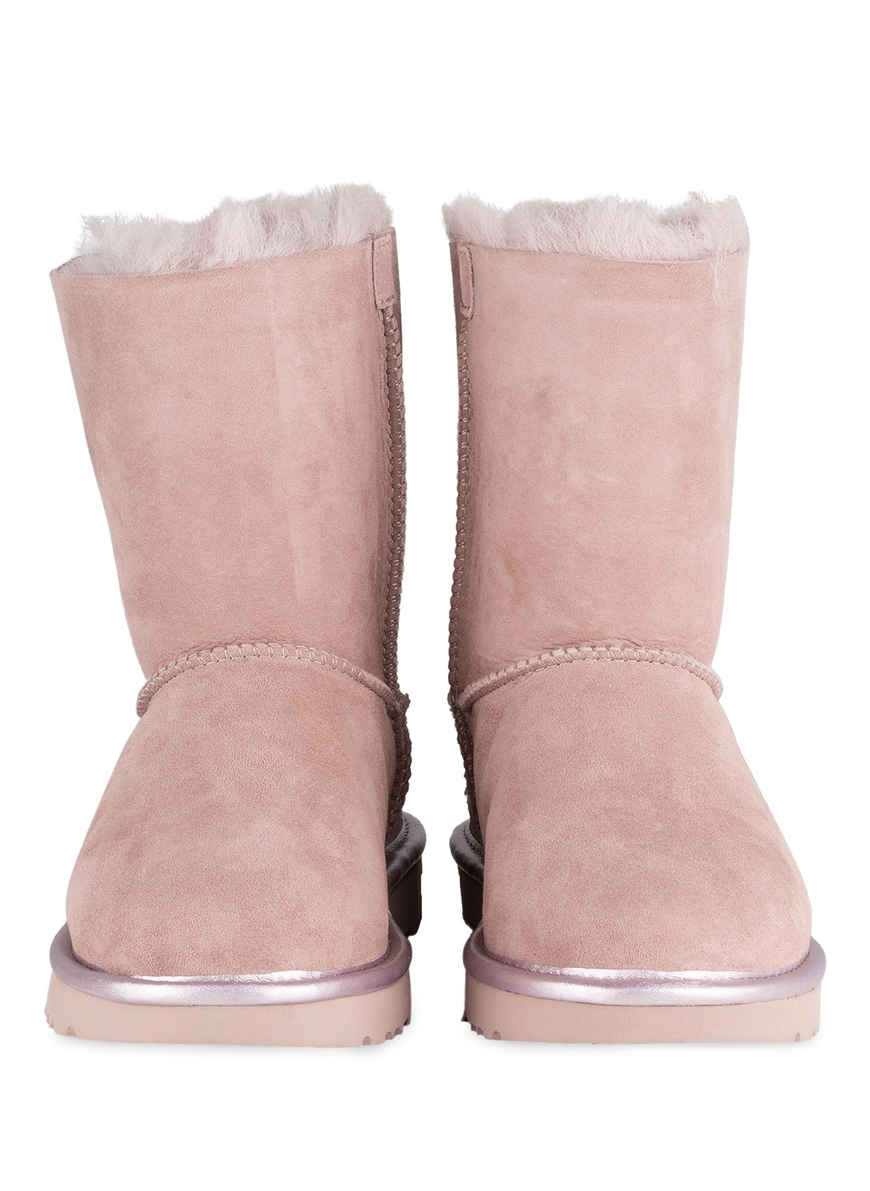Bei Ugg Boots Von Kaufen Altrosa Metallic Bow Ii Bailey u3FJTlcK1