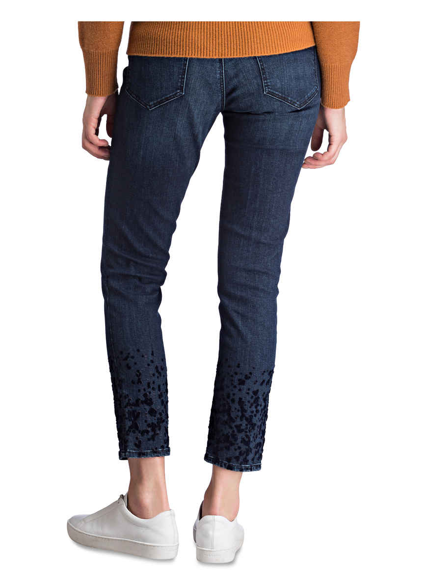 jeans Sophie Kaufen Bei Von Mavi Skinny Mit Samtbesatz Blau AqRc534jLS