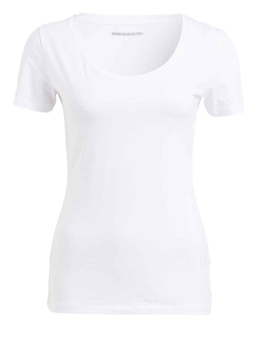 shirt T Von Drykorn Bei Natina Kaufen Weiss J1c3lTFK