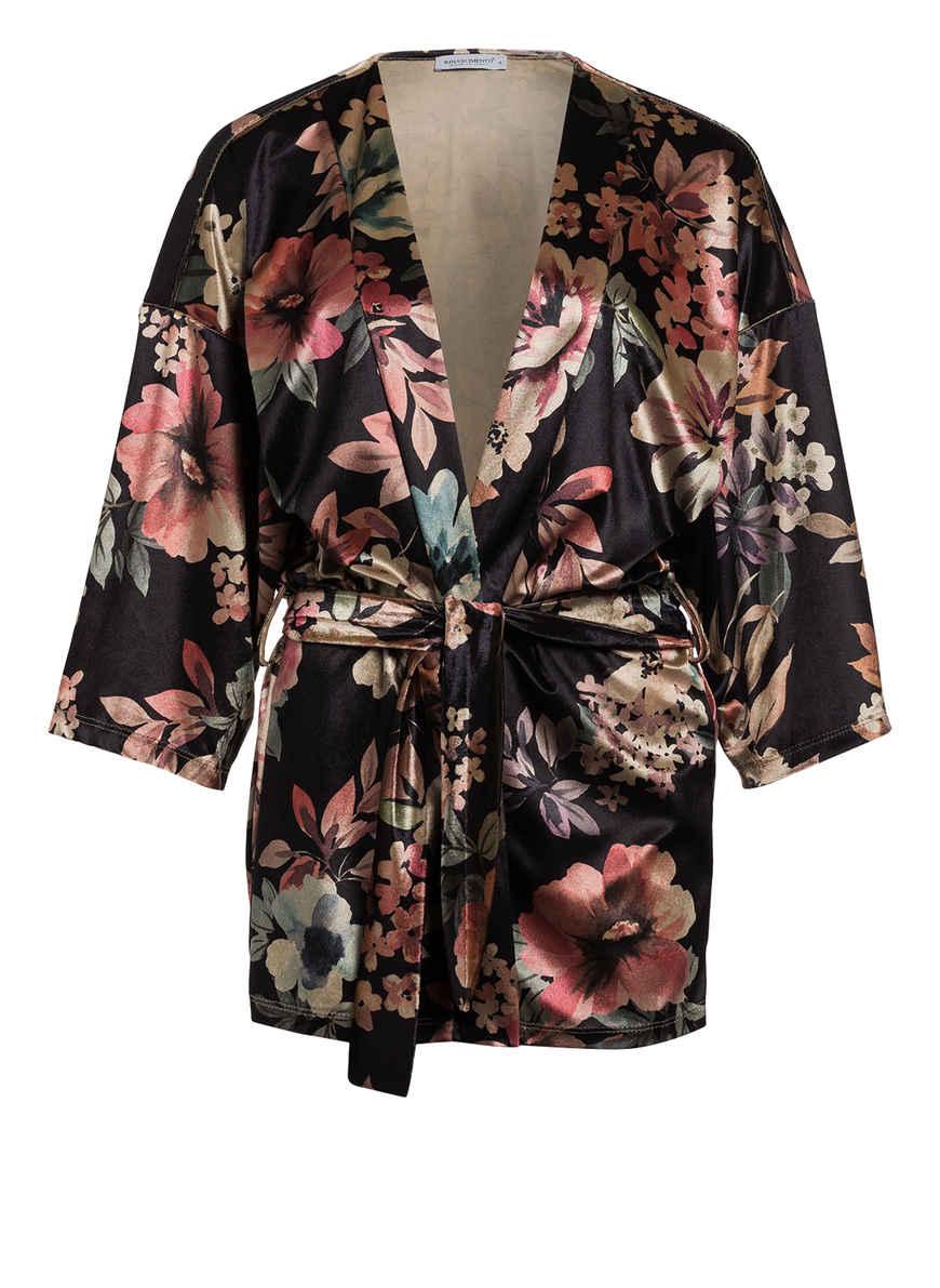 Rinascimento Von Bei Kaufen Kimono SchwarzBeigeRosa by7gYf6v