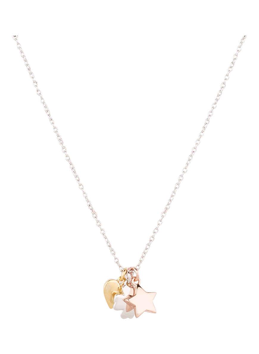 Bei Heart Kaufen Orelia Silber Cluster Von Kette Star IYDH2eWE9