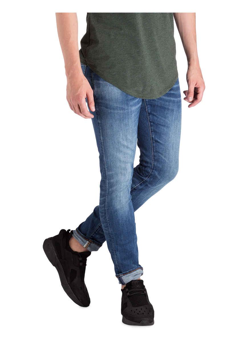 3301 Fit Raw Medium G star Bei 6028 Indigo Von Skinny Jeans Aged Kaufen CBodrex
