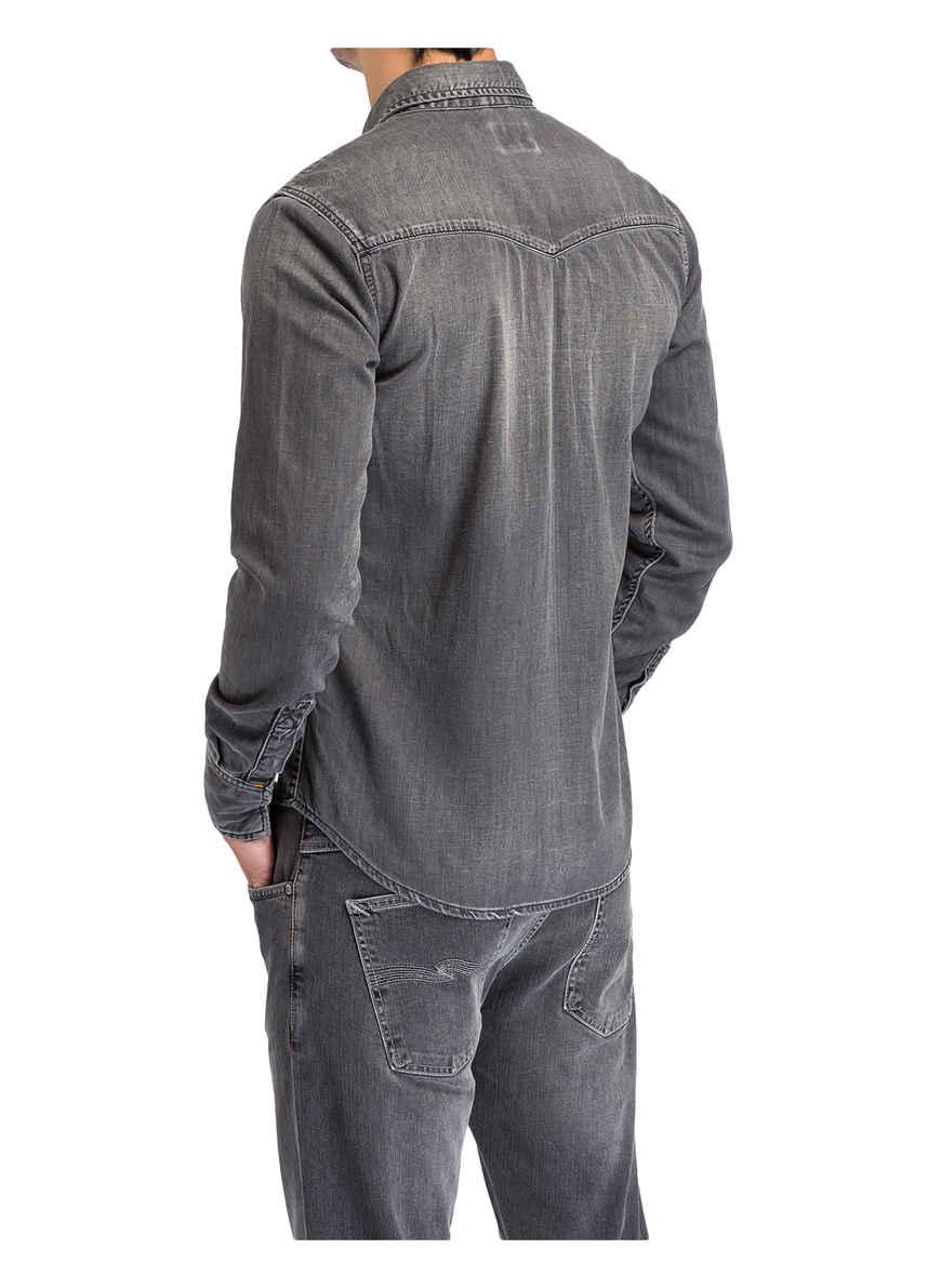 Jeans Grau Von Bei Kaufen Nudie Fit Slim Jeanshemd Jonis nkPO0w