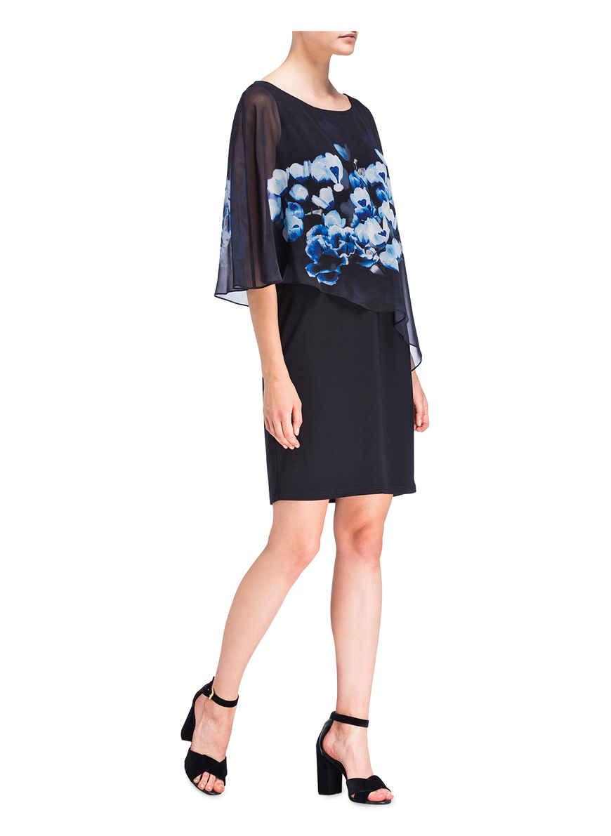 Von Vera Mont DunkelblauHellblauBlau Bei Kaufen Kleid IbgY6f7vy