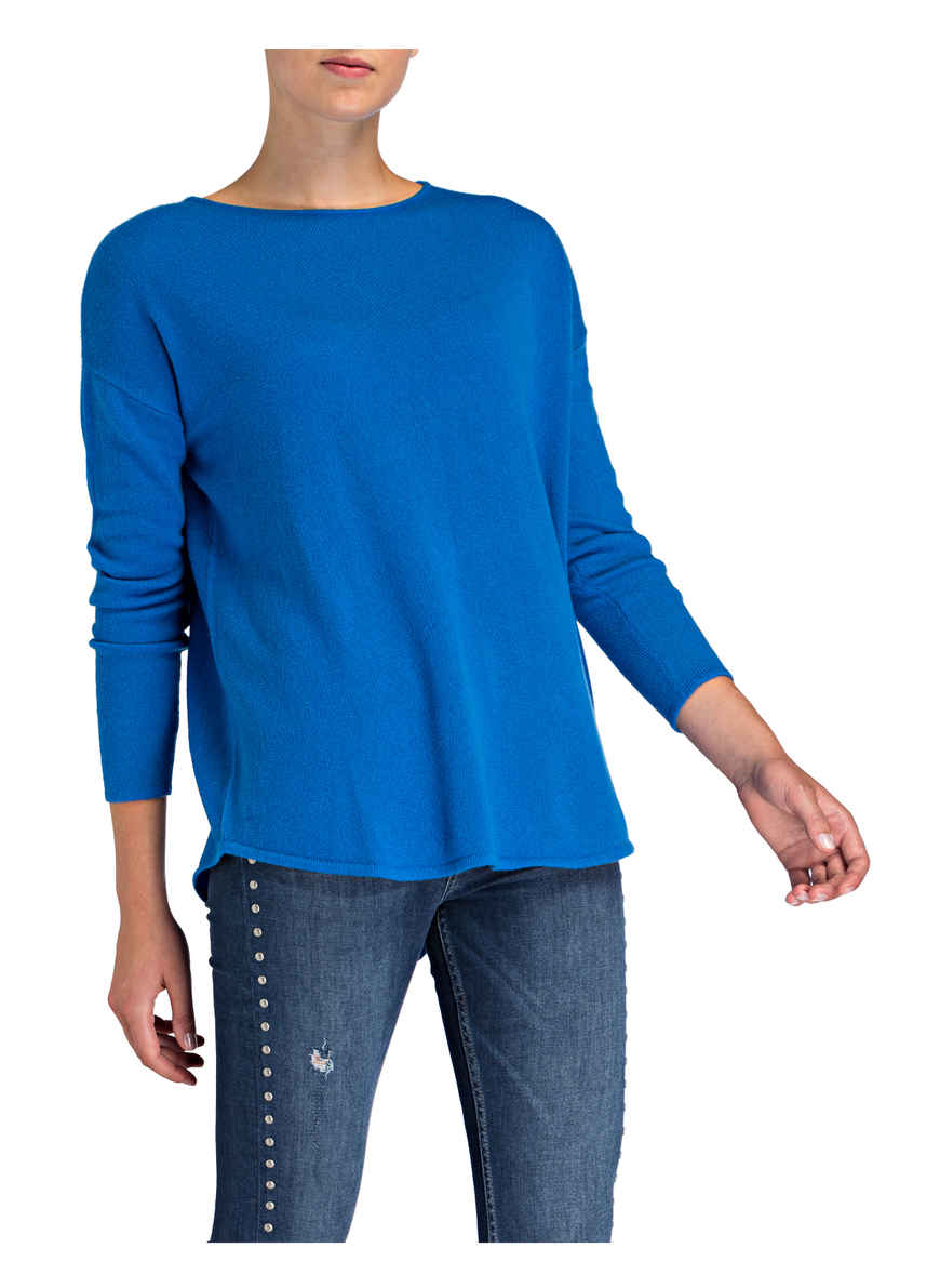 Bei Darling Kaufen Von Blau pullover Harbour Cashmere ONwPX80nk