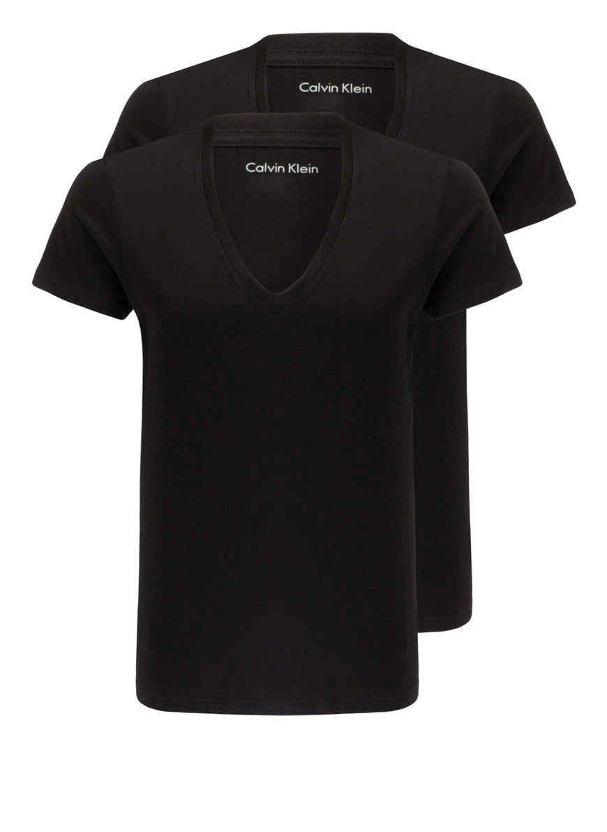 Von pack shirts Bei V 2er Klein Schwarz Calvin Kaufen UMpzqVS