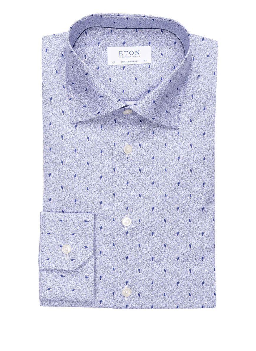 Kaufen Fit Contemporary Von Hemd Bei Blau Eton 4RS5Aq3Lcj