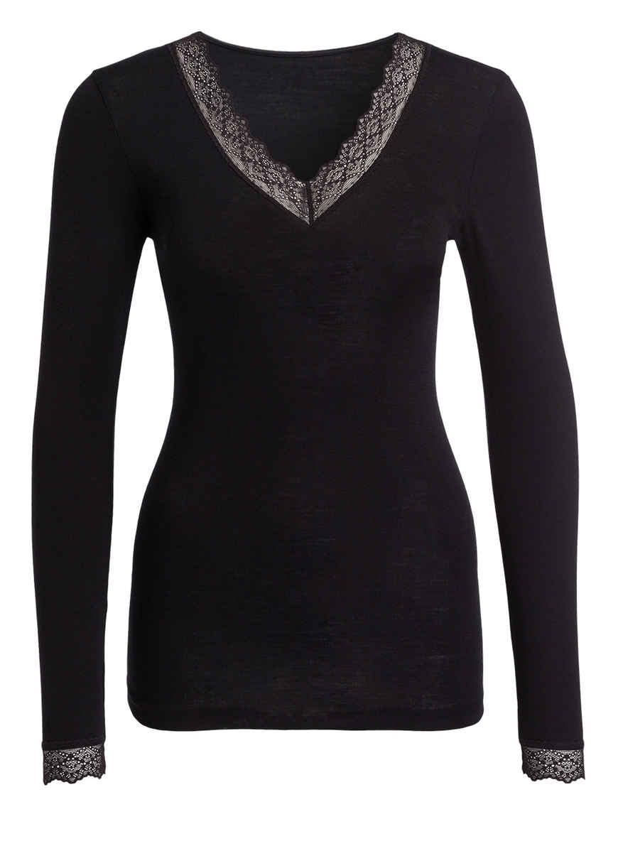 Kaufen Bei Mey Von Silk Schwarz Touch Serie Wool Shirt KclJ31TF