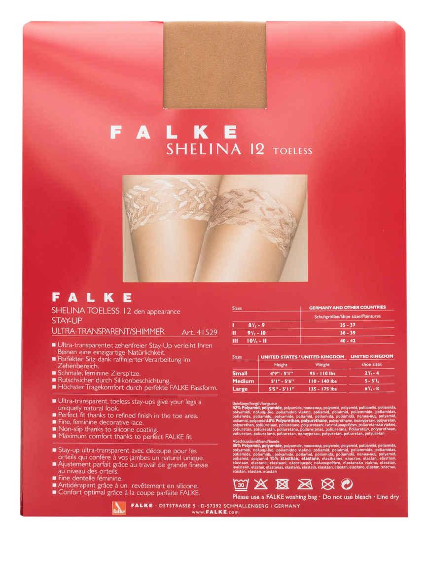 Halterlose Strümpfe Shelina Von Falke 4169 Powder