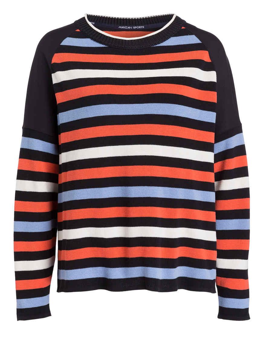 Pullover Orange schwarz Kaufen Von Marccain Bei Gestreift n0mNw8