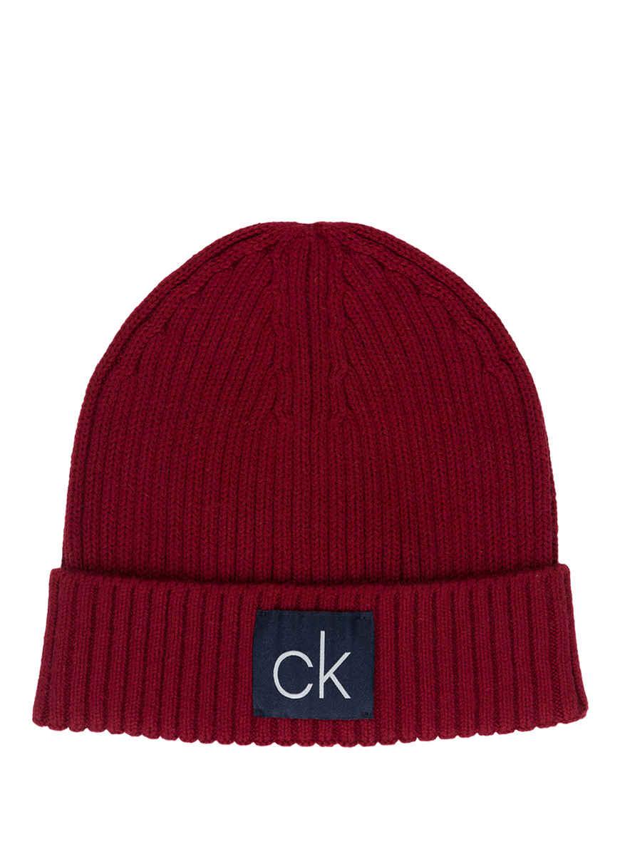 Von Rot Bei Calvin Klein Kaufen Mütze sroxCtQBhd