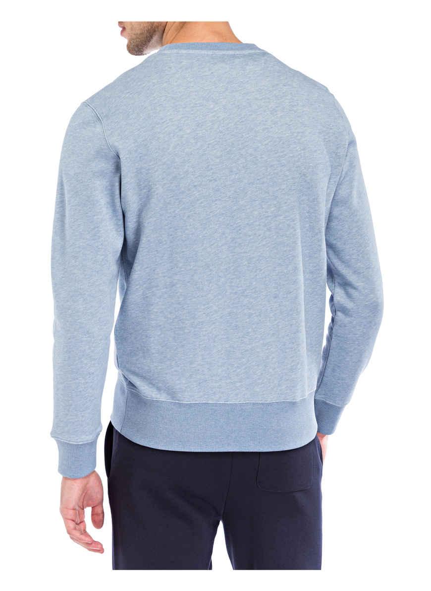 Von Hellblau Bei Kaufen Gant Sweatshirt Meliert qzjpLUMVSG