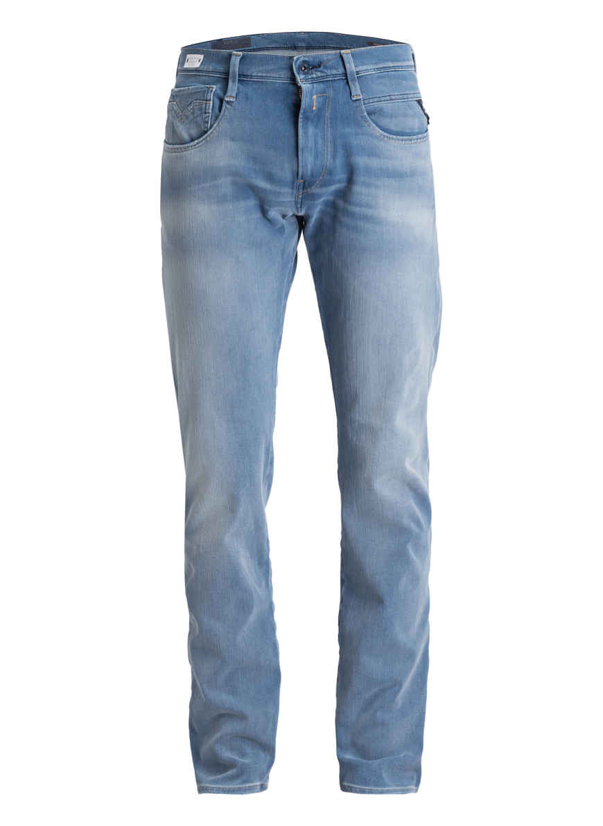 Light 010 Blue Slim Bei Kaufen Fit Jeans Anbass Von Replay OkPXZiu