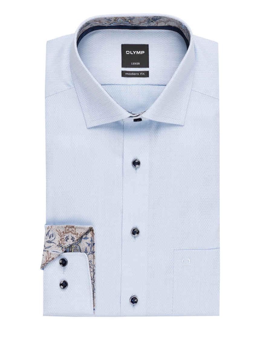 Luxor Modern Von Kaufen Bei Fit Blau Olymp Hemd vmnN0Oy8w