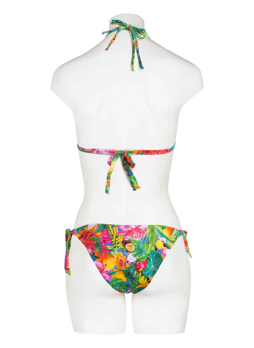 Triangel-bikini-top Tropicool Yero Von Banana Moon Grün/ Pink