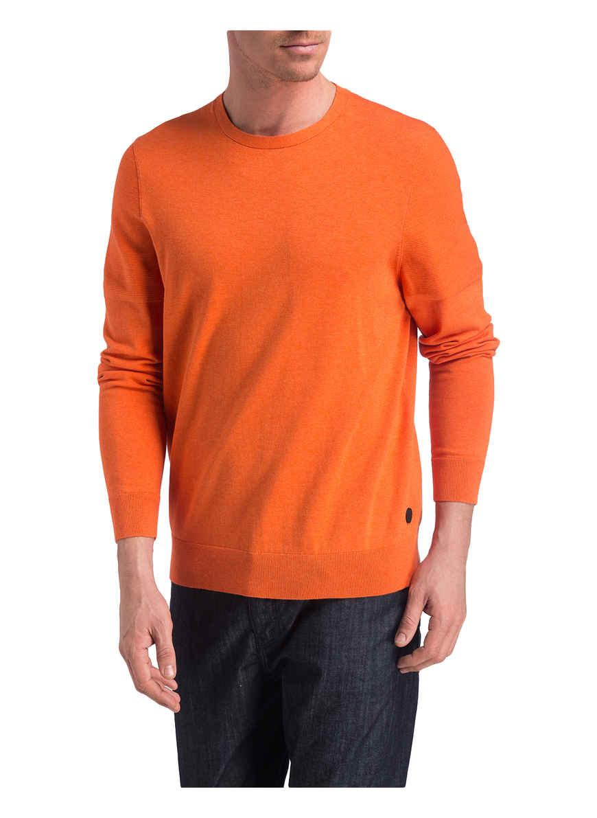 Orange Bogner Bei Edvin Von Pullover Kaufen cL534RjAq