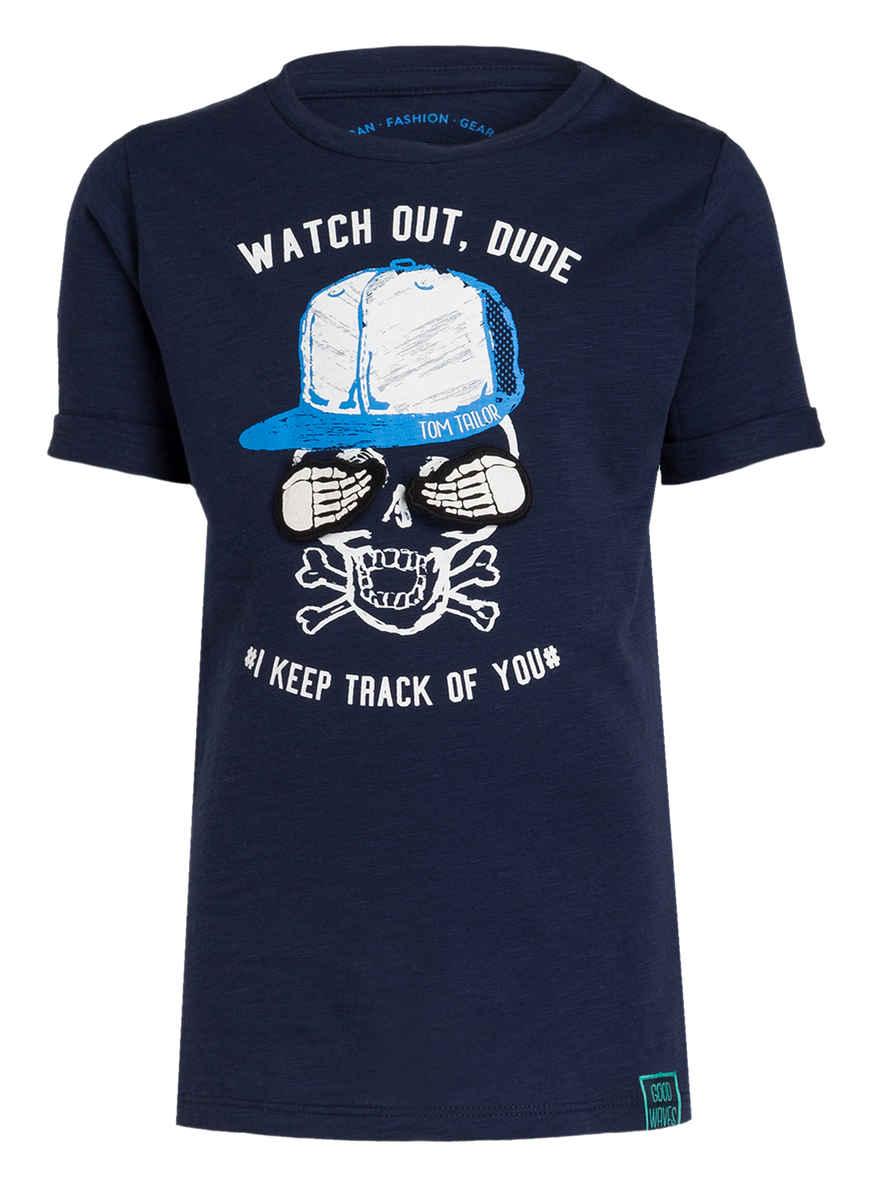 Tailor Kaufen Von shirt Bei Dunkelblau T Tom trCxQshd