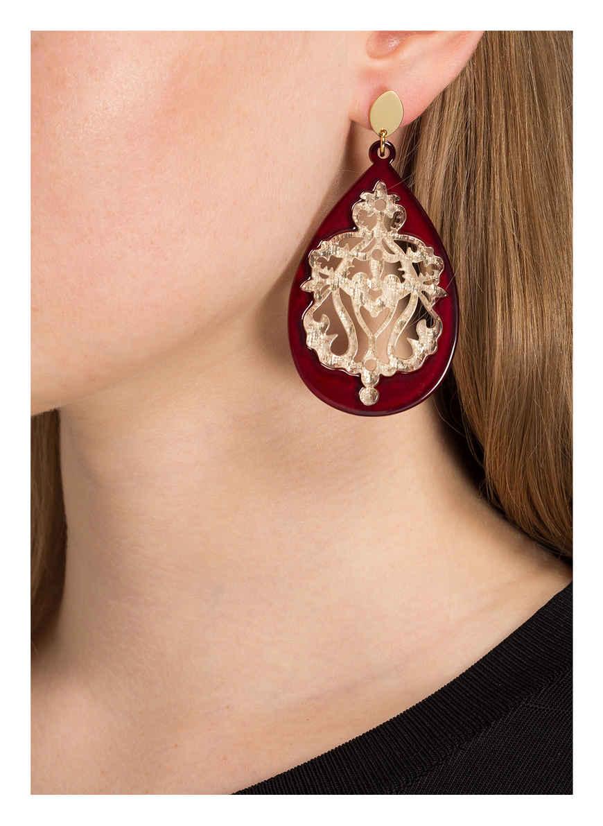 gioielli Ohrringe BordeauxGold Von Lott Bei Kaufen QCthrxBdso