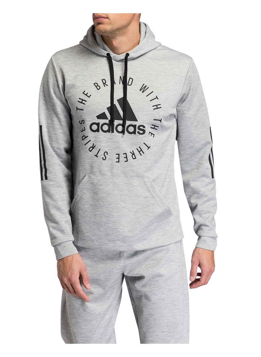 Sport Von Kaufen Hoodie Meliert Id Bei Adidas Hellgrau RjL354A