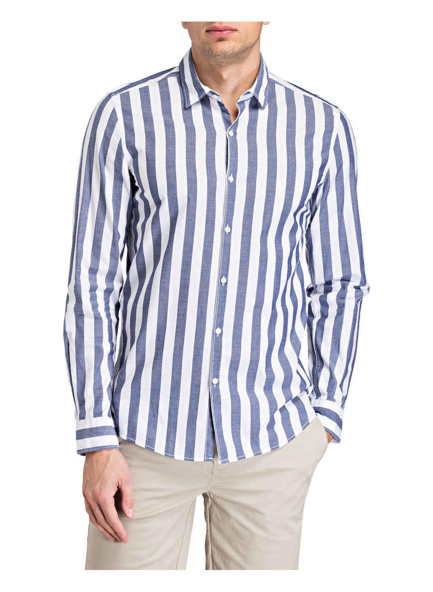 Bei Von Paul BlauWeiss Kaufen Gestreift Fit Hemd Slim tQCdrxsh