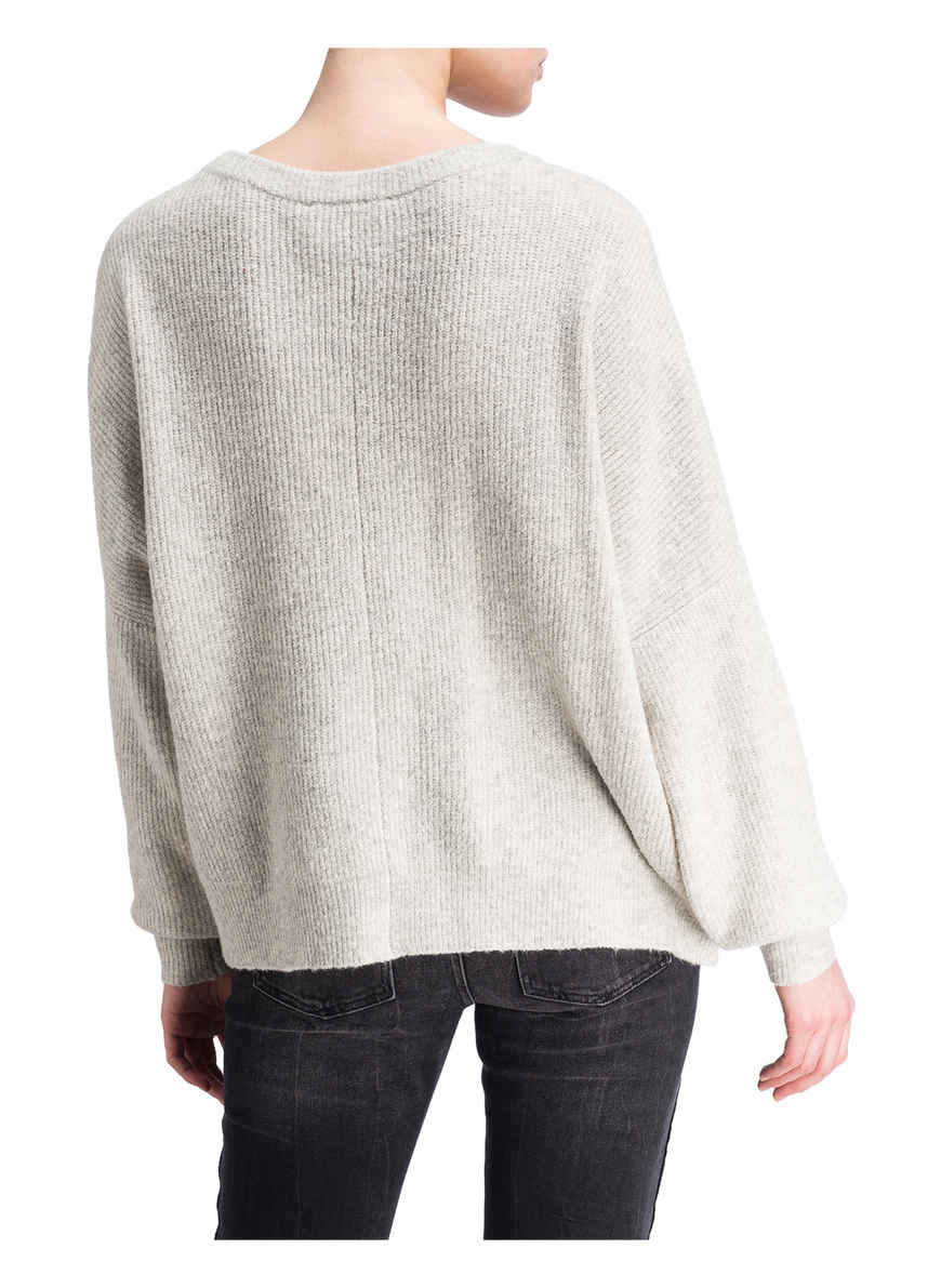 Von pullover Meliert American Kaufen Oversized Hellgrau Vintage Bei GzMVpqSU