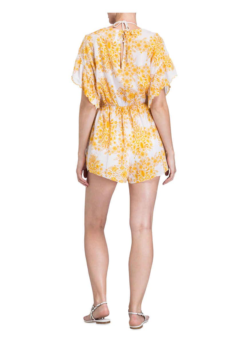 Bei Von Seafolly Sunflower GelbWeiss Jumpsuit Kaufen xotshCrBQd