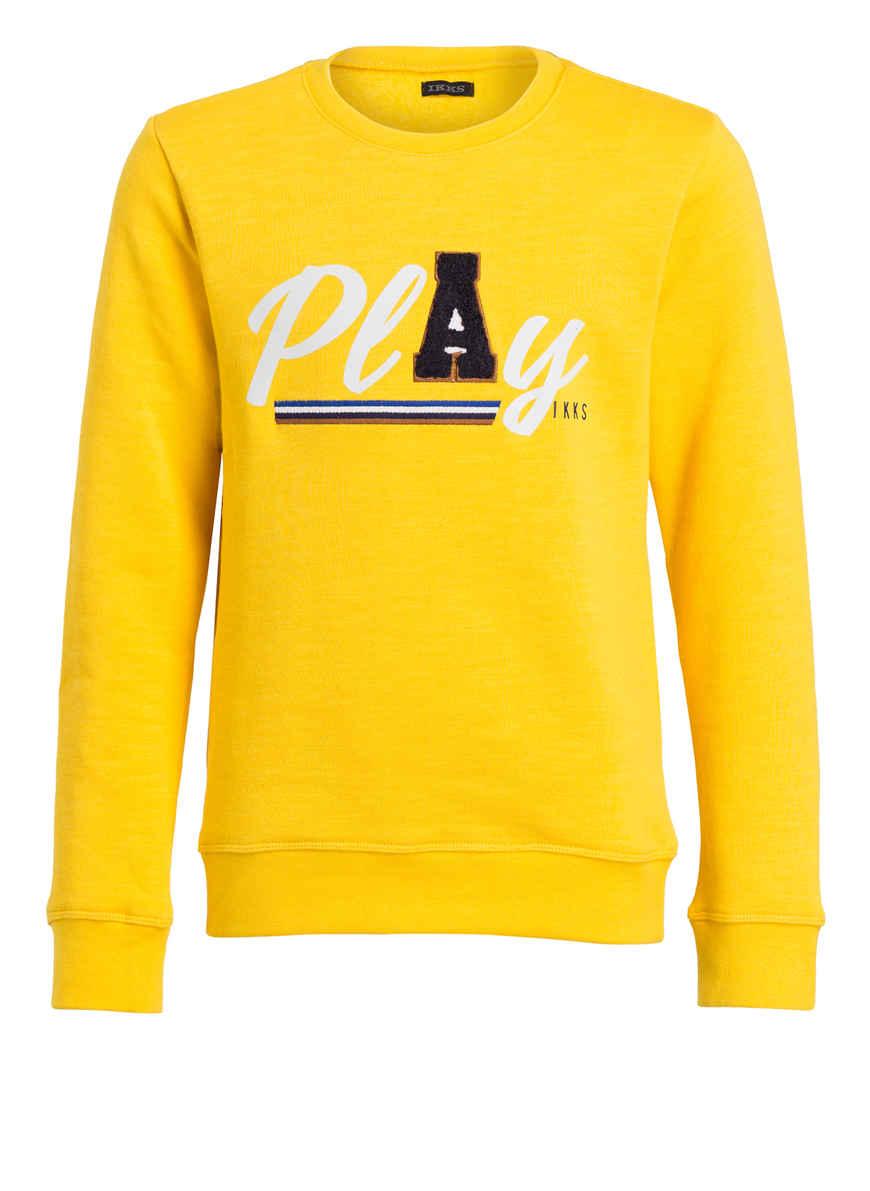 Sweatshirt Von Ikks Bei Kaufen Gelb 4AR35jL